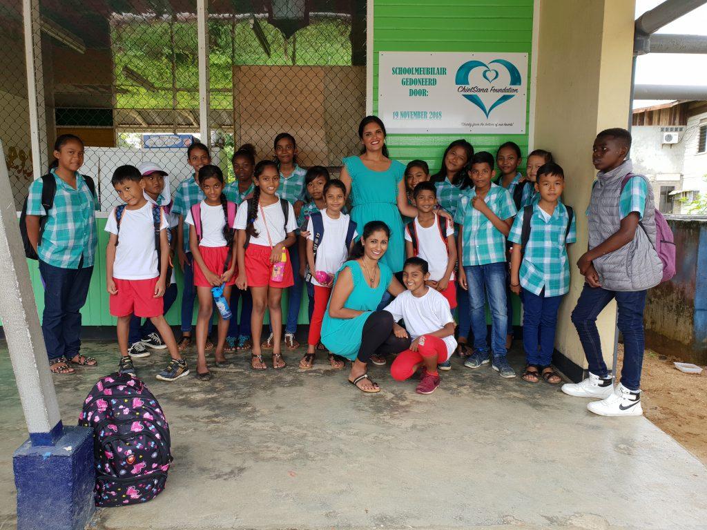 Shri vasudev school chietsana foundation for Meubilair basisschool